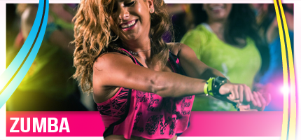Zumba classes wide